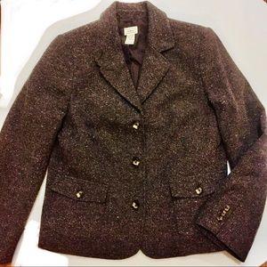 f5f82d7283a Just in💕 NWOT L. L. Bean Tweed Herringbone Jacket